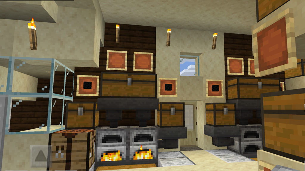 【マインクラフト建築】自動で焼くかまど【マイクラ 】