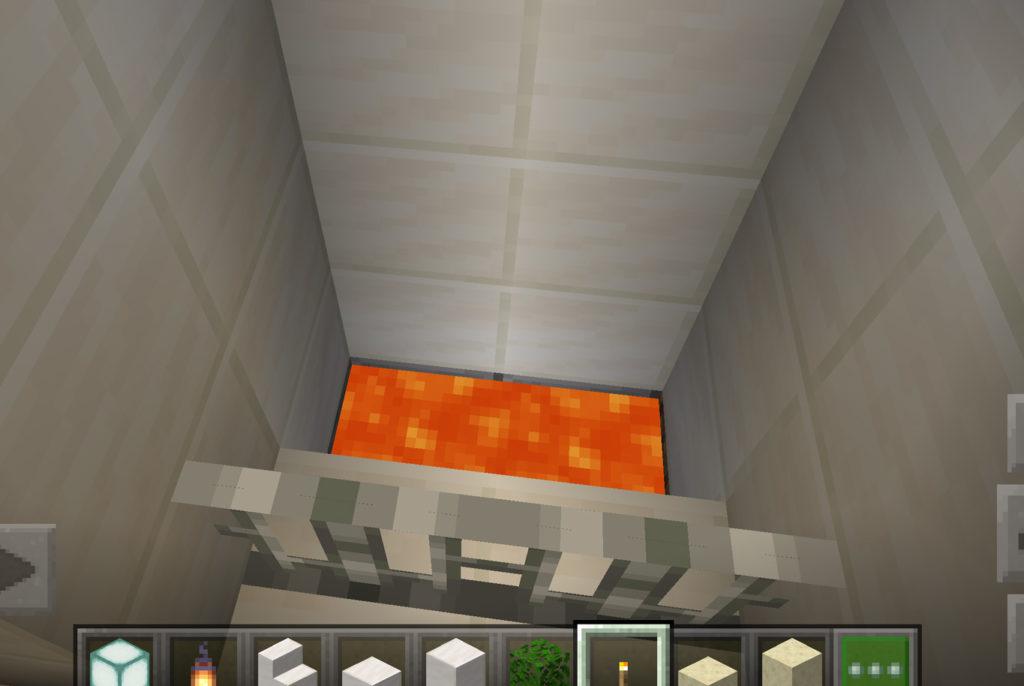 【マインクラフト 】超簡単で安全なマグマの焼却炉【マイクラ】