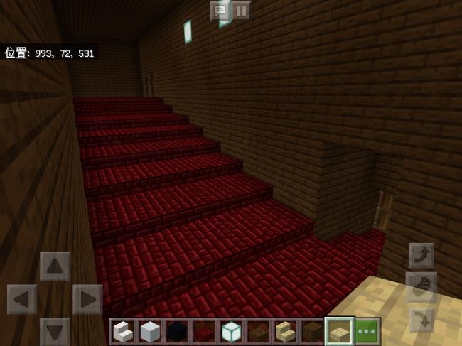【マインクラフト】映画館の階段【マイクラ】